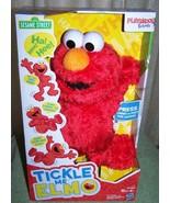 "Playskool Friends Sesame Street TICKLE ME ELMO Plush 13.5""H New - $19.88"