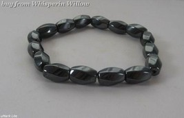 Magnetic Hematite Swirl Fashion Bracelet - $12.99