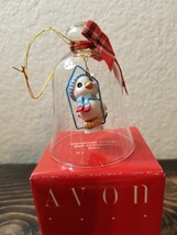 Vintage AVON Christmas Charm Bell Ornament Bird The Gift Collection - $11.99
