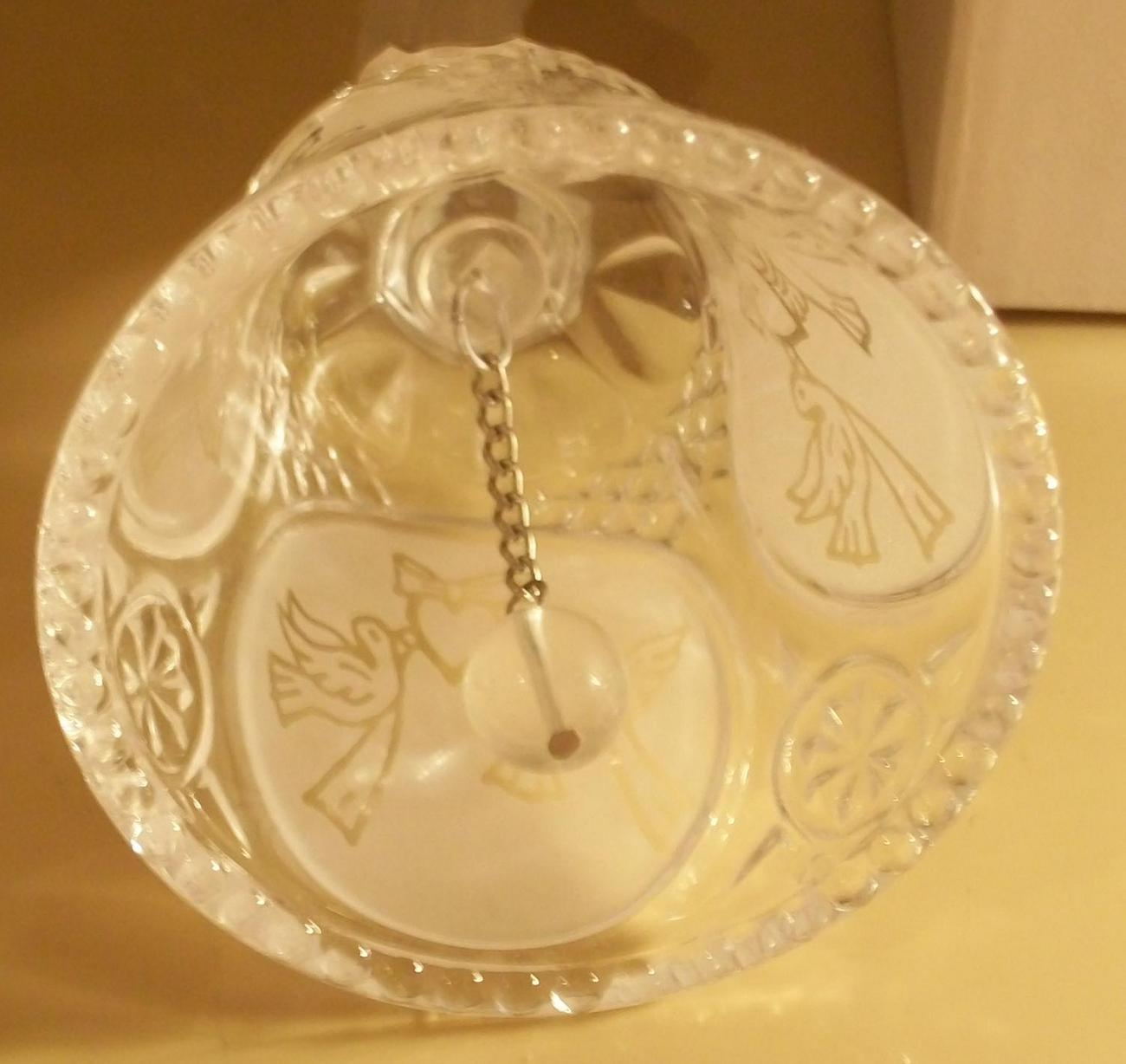 CRYSTAL WEDDING BELL BRAND NEW IN BOX