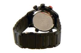 KR3W Mens K1006 Stainless Steel Digit Dual Analog Digital Wrist Watch New in Box image 5