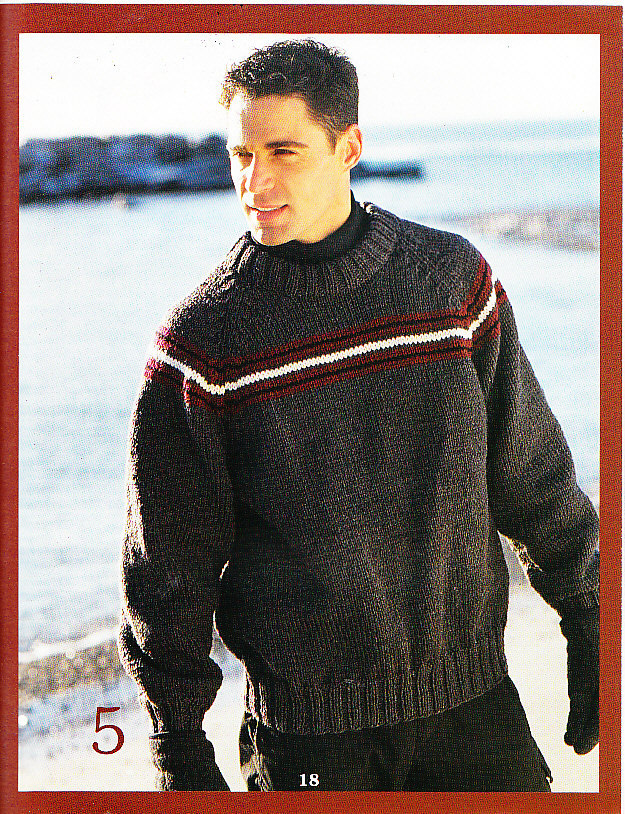 ** 8 * Beautiful Sweaters to Knit for Men and Women