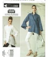 Vogue Sewing Pattern 1246 Misses Shirt Size 8-14 Lynn Mizono  - $16.19