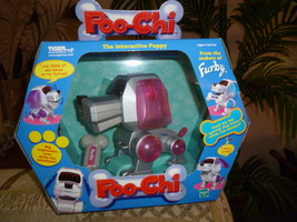 2000 Silver POO-CHI Robo Chi Pet Interactive Puppy NRFB Friend of FURBY - $79.99
