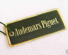 Audemars Piguet Orig Vint Wristwatch Hang Tag, ca 1940s - $99.99