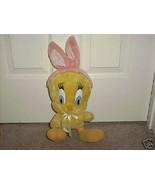 "Looney Tunes TWEETY BIRD * EASTER * Plush 15"" From 1997 - $9.96"