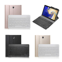 "Protect Bluetooth Keyboard Leather Smart Case For Samsung Tab A2 10.5"" T... - $142.06"