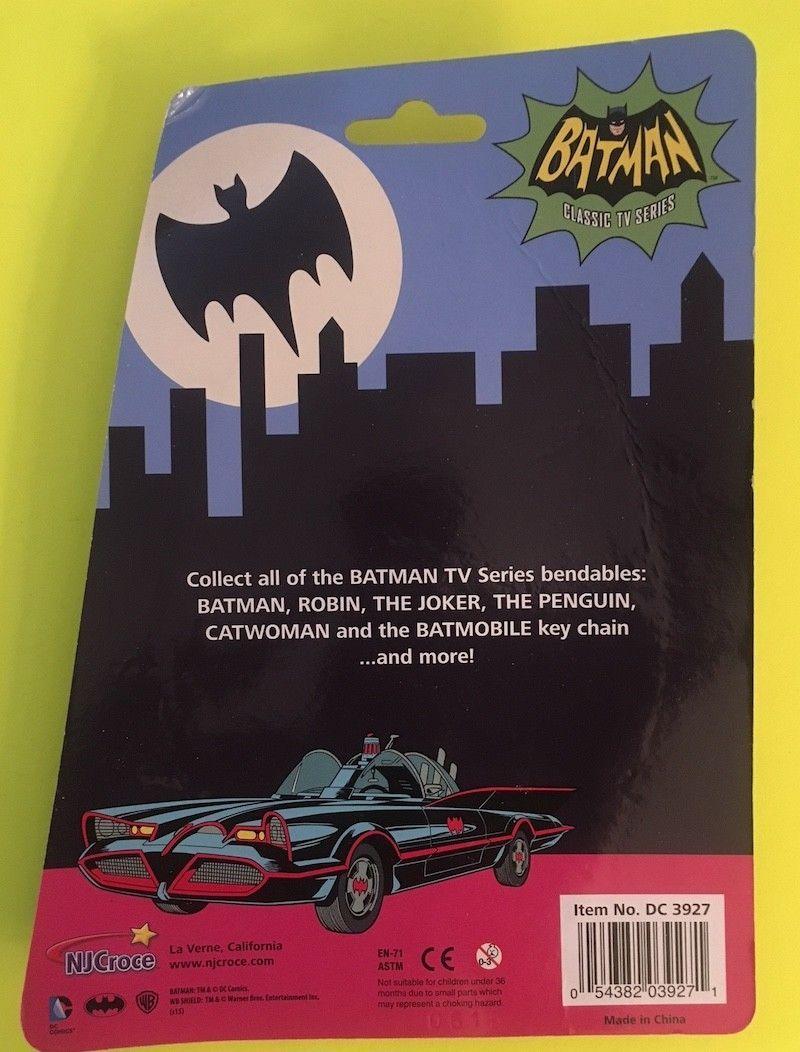 BATMAN Classic TV Series -CATWOMAN Bendable  Figure