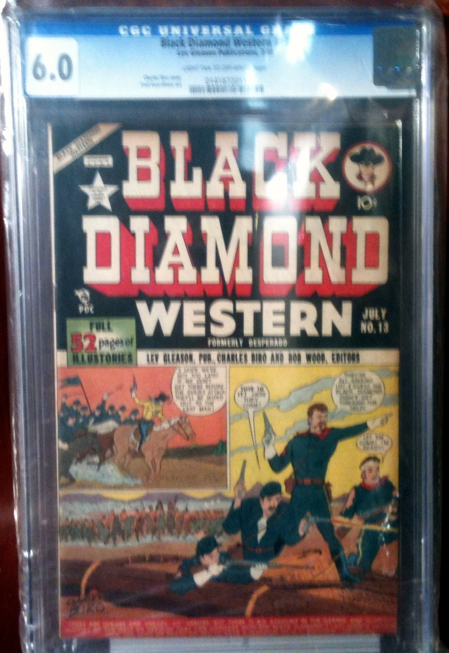 Black Diamond Western # 13 CGC Graded 6.0 FINE