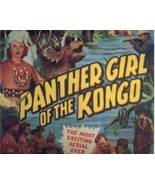 Panther Girl of the Kongo, 12 Chapter Serial, 1955 - $19.99