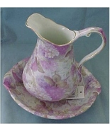 Miniature Pitcher and Bowl Mimics Victorian Appliance - $25.00
