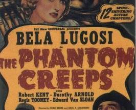 THE PHANTOM CREEPS, 12 Chapter Serial - $19.99
