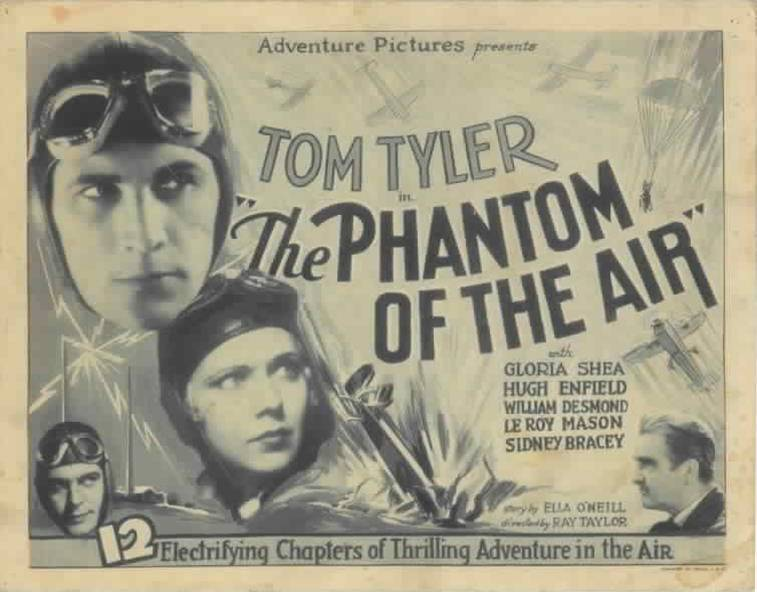 Primary image for PHANTOM OF THE AIR, 12 Chapter Serial