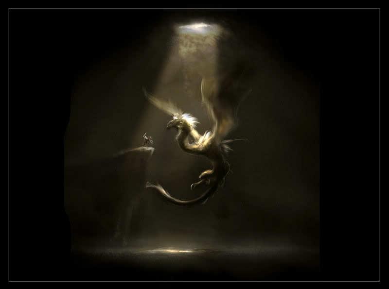 Haunted : Custom All Powerful Dragon Naga Bakunawa Gold Red Green