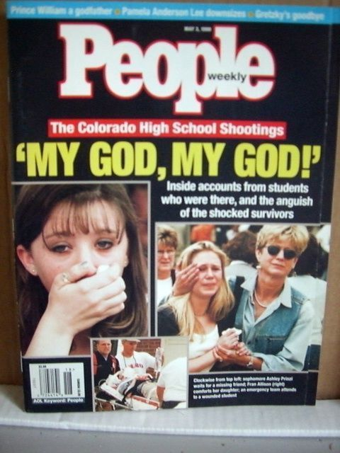 Primary image for People Magazine May 3 1999 The Colorado High School Shootings
