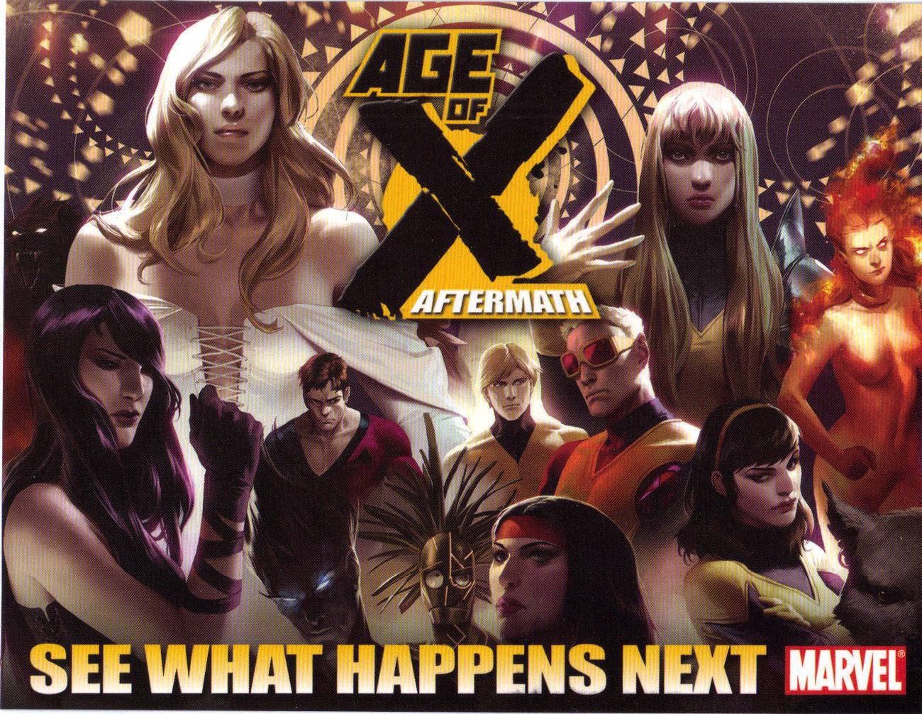 Marvel age x