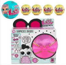 MGA LOL Surprise Biggie Pet Dollmation Set Doll Sidekick + Charm Fizz Ba... - $105.00