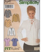 Simplicity 9816 Misses' Blouse Sewing Pattern, ... - $4.25
