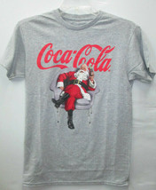 Coca-Cola Heather Gray and Red Sport Fabric Tee T-shirt 3X-Large 3XL BRAND NEW