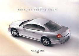 2005 Chrysler SEBRING COUPE brochure catalog US 05  - $8.00
