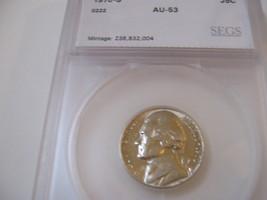 5 Cents, 1970-S, Jefferson Nickel  - $10.00