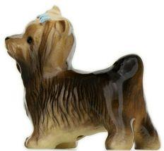 Hagen Renaker Dog Yorkshire Terrier Ceramic Figurine image 4