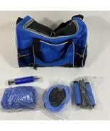 5 Piece Exercise Set, Duffel Bag, Jump Rope, Fitness Ball, Toning Tube, Air Pump - $32.70