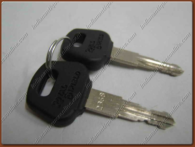 COMPLETE LOCK & KEY SET FOR ROYAL ENFIELD BULLET- NEW