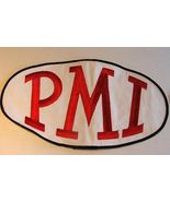 PMI Red & Black on White Embroidered Patch - $19.99