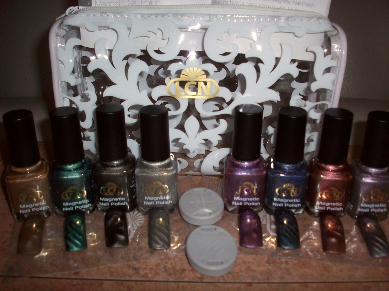 Magnetic Nail Polish LCN 10 pc set *NEW* nail art