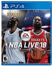 NBA Live 18 The Streets The League Video Game for PS4 by EA Sports - $13.99