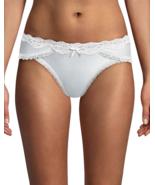 Maidenform Sexy Lace-Trim Bikini Panty DM0016 White Small XL  - $9.99