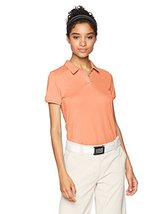 adidas Golf Performance Short Sleeve Polo Shirt, Chalk Coral, X-Large