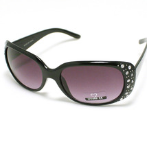 CLASSIC Womens Designer Fashion Sunglasses with Rhinestone Oval Frame New - $9.95