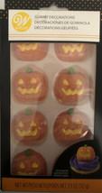Pumpkin Jack O'Lantern Gummy Decorations 1 ea 8 Ct Wilton Halloween-SHIP... - $11.76