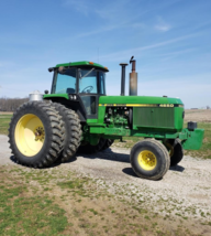 1988 JOHN DEERE 4650 For Sale In Mount Carmel, Illinois 62818 image 10