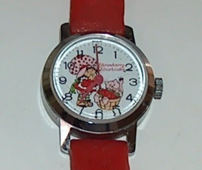 Vintage Strawberry Shortcake Character Watch