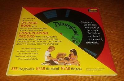 1970 Walt Disney 24 Pg Book & Record #348 Mickey & The Beanstalk Mint FREE SHIP