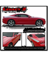LEGACY 2 Chevy Camaro 2014 Upper Body Stripe Decal 3M Vinyl Graphic LT 1 - $129.99