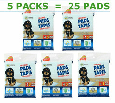 5 X Heavy Duty Pet Tapis Absorbants Puppy Training Pads, 5-ct Ea Pack NE... - $22.76