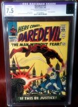 Daredevil (1964) # 14 CGC Graded 7.5 Slight Restoration - $64.95