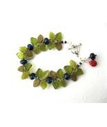 Blueberry Bush Bracelet Handmade by Chula - $70.00