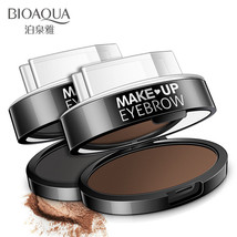 BIOAQUA Brow Stamp Powder Natural Perfect Eyebrow 2 Colors for choose - $8.59
