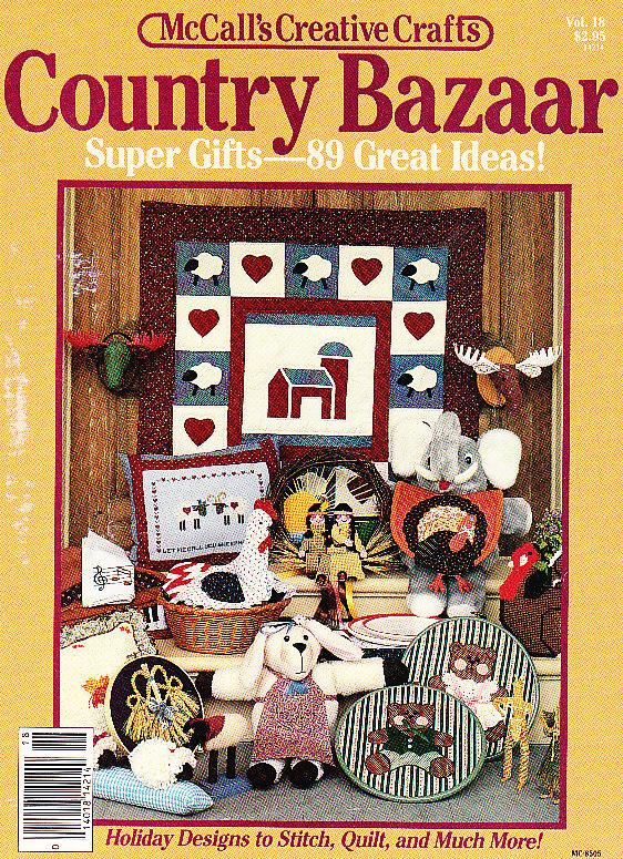 *McCall's Country Bazaar - 89 GREAT Ideas Christmas Plus