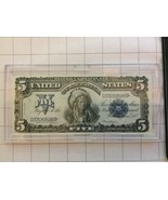 1886 US $5 Dollar Silver Certificate Uncirculated - $3,500.00