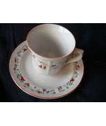 Katherine Babonovsky White Christmas cups and s... - $14.99