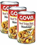 Goya Beef Tripe Stew- Mondongo 15 oz Pack of 3 - $27.71