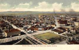 Panorama Denver Colorado 1910c postcard - $6.44
