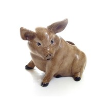 Pig Planter Vintage Ceramic Farmhouse Decor- small damage - $15.00