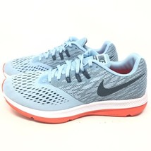 Nike Womens Air Zoom Winflo 4 Light Blue Running Shoes Sneakers Sz 10 M - $29.99